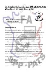 Fichier PDF autonomes