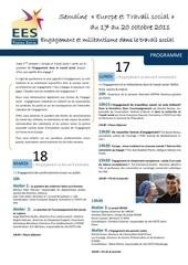 eests programme semaine europe et ts
