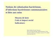Fichier PDF 2 10 s1 notion de colonisation bacterienne d infections bacteriennes communautaires et liees aux soins