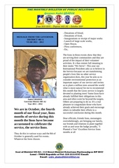 bulletin of the governor gbadoe october 2011