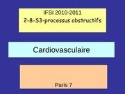 cours ifsi insuffisance cardiaque oedeme aigu pulmonaire