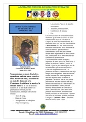 le bulletin du gouverneur octobre 2011