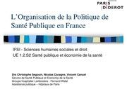 Fichier PDF s2 1 2 c segouin l organisation de la politique de sante publique en france