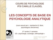 ue 1 1 s1 concepts de base en psychologie analytique 2
