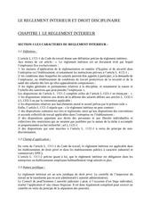 Fichier PDF le reglement interieur et droit disciplinaire