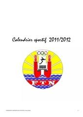 calendrier sportif ftn 2011 2012