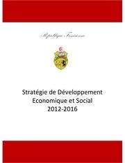 tunisie strategie de developpement economique et social marseilles sept 2011