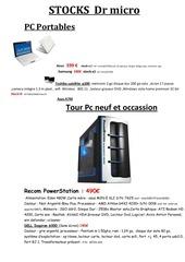 Fichier PDF vitrine