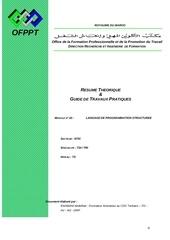 module langage de programmation structure c