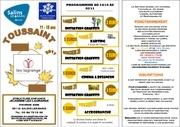 programme toussaint 2011