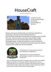 housecraft servegame