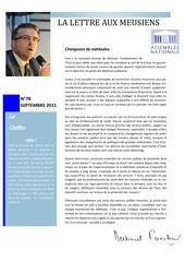 lettre aux meusiens 78 sept 2011
