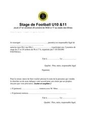 stage de football u10 1