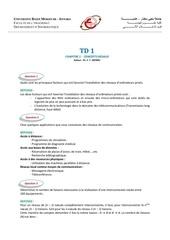 corrige td 1