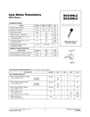 datasheet bc549c transistor