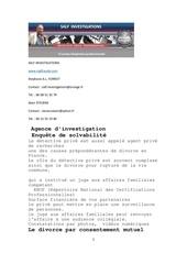 enquetes et investigations pour vol