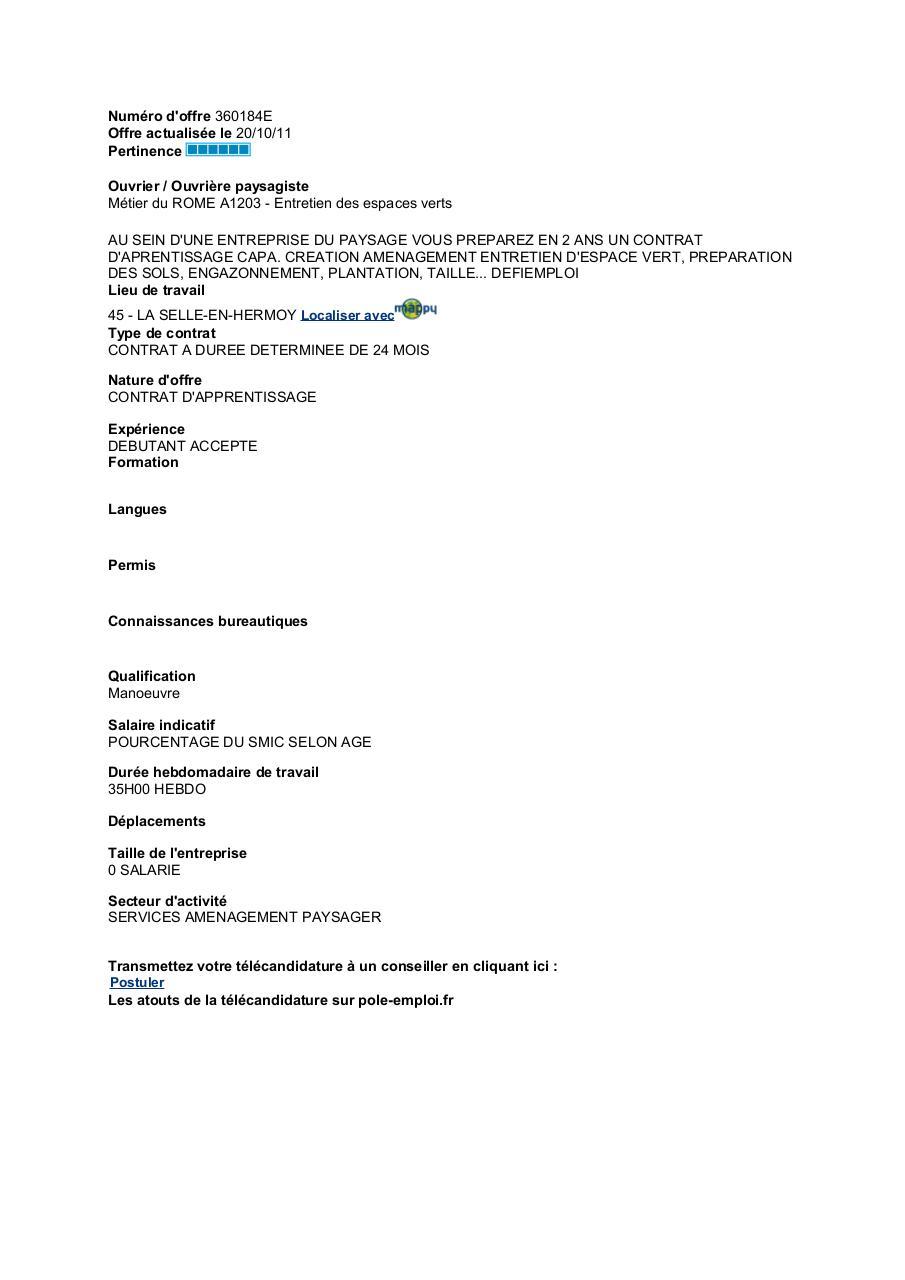 Numéro D Offre 360184e Offres1 14 Pdf Fichier Pdf