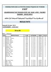 championnat d t 2011 samedi 25 juin