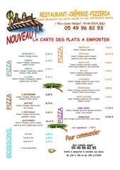 carte plats emportes pizza 2011
