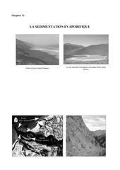 geologie planche photographique la sedimentation evaporique chapitre 11