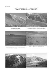 geologie planche photographique transport des materiaux chapitre 4