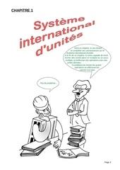 01 systeme international d unites