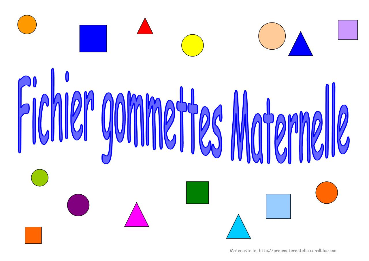 Exercices gommettes MATERNELLE.pdf - page 1/30