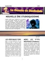sq gazette octobre 11