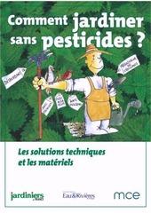 comment jardiner sans pesticides les solutions techniques et les materiels ocr
