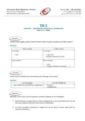 corrige td 2