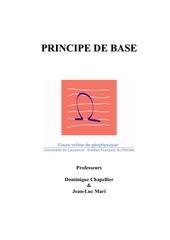 geophysique principe de base
