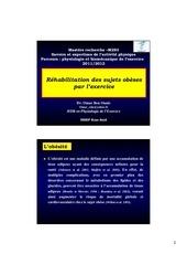 rehabilitation des obeses par l exercice pdf m2s3 1