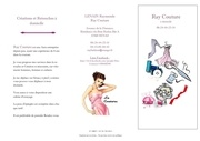 brochure ray couture