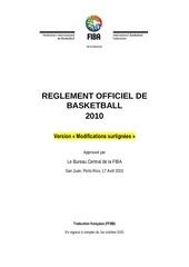 fiba regles 2010 fr