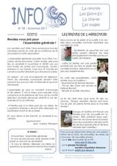 info seb du mois de octobre 2011 hd