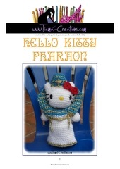 Fichier PDF hello kitty pharaon