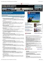 russia morocco news