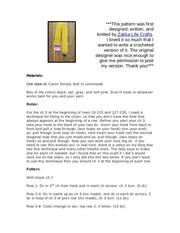 pencil scarf w photo pdf