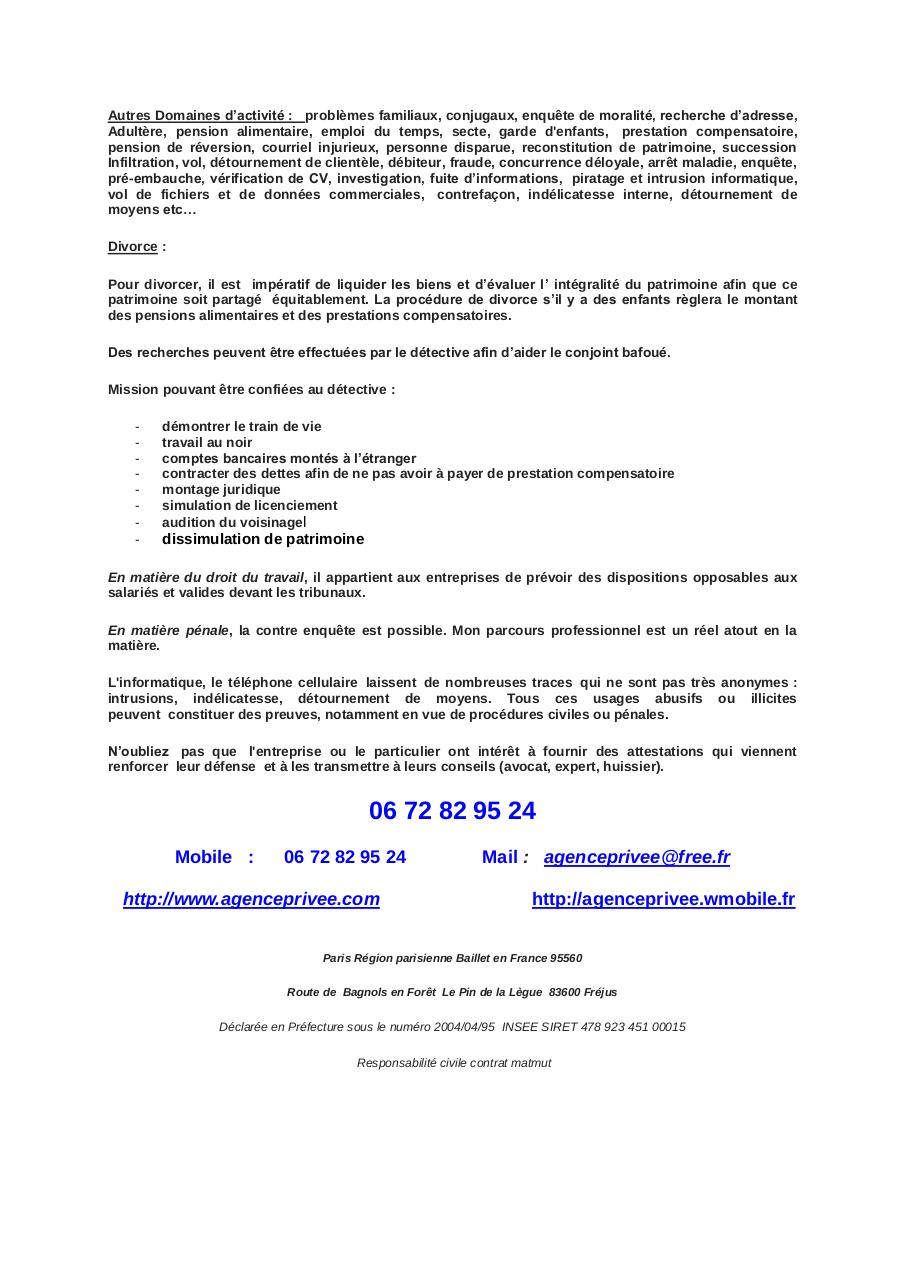 Aperçu du document Detective prive Sainte Maxime.pdf - page 2/3