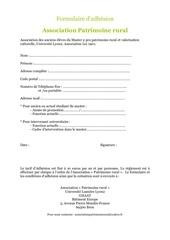 Fichier PDF formulaire d adhesion asso