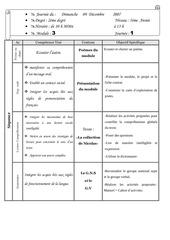 journal de classe 5e mod3