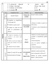 journal de classe 5e mod4