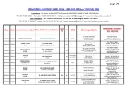 calendrier courses 2012 cdchs 2