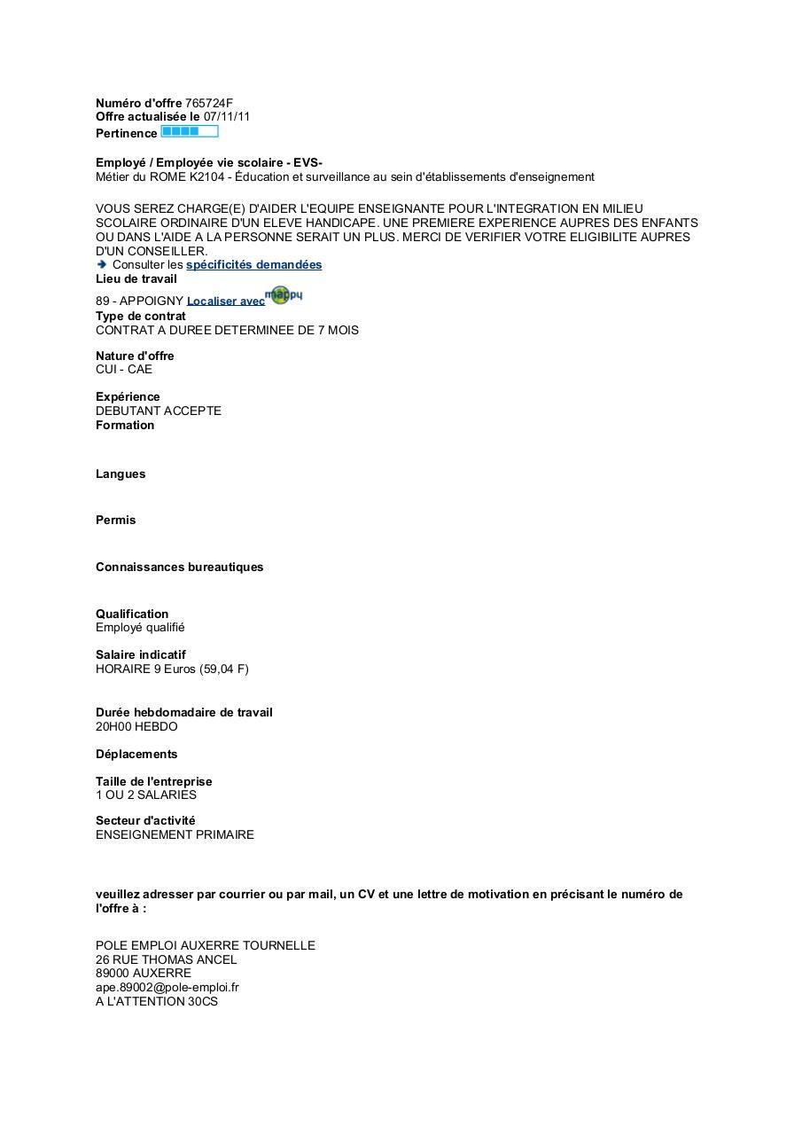 Numéro D Offre 360184e Par Client Offres 1 4 Pdf