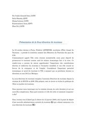 Fichier PDF expose droit sous direction du tourisme