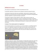 Fichier PDF la colorimetrie