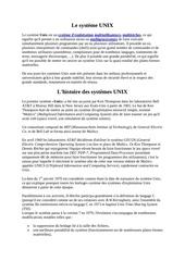 Fichier PDF le systeme unix
