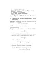 lecon 3 espaces de hilbert fonctionnelles lineaires