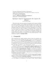 lecon 5 quelques aspects topologiques des espaces de hilbert