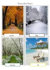 panneau les saisons